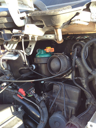 How to replace the X250 Diesel fuel filter  Part I